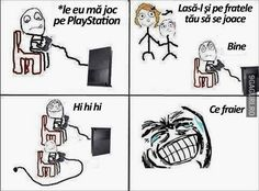Let your brother play with you Funny Images, Funny Photos, Playstation, Your Brother, Stupid, Let It Be, Humor, Memes, Maya