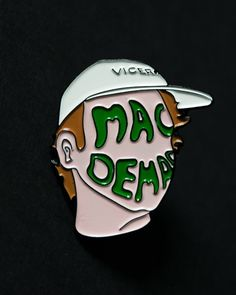 9f2c0e239d03f8 Mac Demarco pin from @philbxrt Mac Demarco is a legend! Available to  purchase through