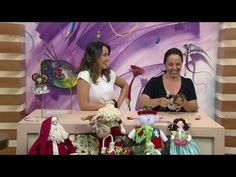 Mulher.com - 08/11/2016 - Anjinho pingente em tecido - Regina Tortorelli P1 - YouTube