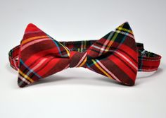 Boy's Bow Tie  Stewart Plaid Bowtie  Christmas by MeandMatilda, $22.00