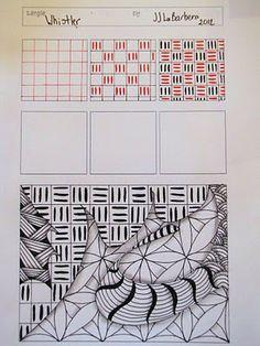 Tangle Pattern: Whistler