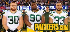 Even injured~Rodgers photobomb:) ~ Packers at Giants 11-17-13