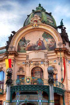Casa Municipal - Praga.