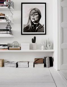 Brigitte Bardot Poster Printable Bardot Smoking by TheJGfiles