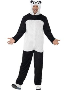 Panda Costume : Get It On Fancy Dress Superstore, Fancy Dress & Accessories For The Whole Family. http://www.getiton-fancydress.co.uk/adultcostumes/animalcostumes/pandacostume#.UtWCiPu6_oY