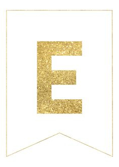 Gold Free Printable Banner Letters - Paper Trail Design - Gold Free Printable Banner Letters Use our gold free printable banner letters to make any custom ban - Eid Banner, Party Banner, Easter Banner, Free Printable Banner Letters, Free Printable Birthday Banner, Ramadan Decoration, Eid Stickers, Congratulations Banner, New Year Banner