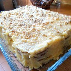 Portuguese Desserts, Portuguese Recipes, Xmas Desserts, Dessert Recipes, Beignets, Cheesecakes, Desserts With Biscuits, Cupcakes, Custard