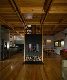 ADPROPEIXE HOUSE  TERRAS DE BOURO GERÊS / PORTUGAL / 2008 by Castanheira & Bastai Arcquitectos  #architecture #fireplaces #design