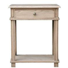 Bedside Table - Manto - Elm Timber