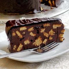 Prince William's Chocolate Biscuit Cake - Rock Recipes -The Best Food & Photos from my St. John's, Newfoundland Kitchen.