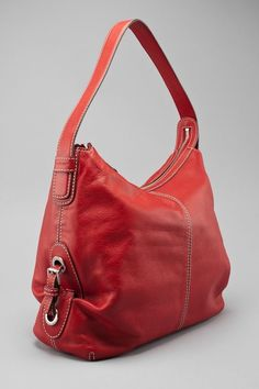 Large Burgundy Leather Hobo Bag / Oxblood Shoulder Bag byMishka ...