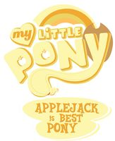 best pony mlp | Fanart - MLP. My Little Pony Logo - Pinkie Pie by *jamescorck on ...