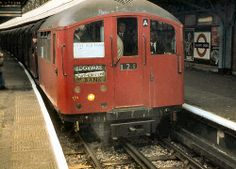 1938 Tube Stock at Golders Green