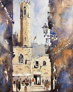 Iain Stewart, Gothic Quarter Barcelona