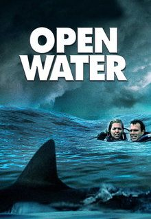 How do the three films Jaws, Deep Blue Sea (1999) and Open Water create tension?