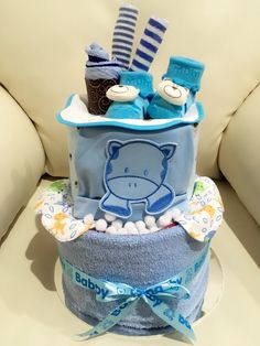 Diapers cake made by me