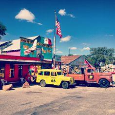 Seligman, AZ, on historic Route 66