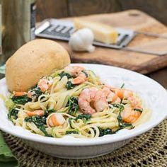 Shrimp Florentine by fortmillscliving
