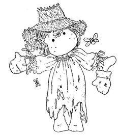 Sweet Rainbow 2011 - Scarecrow Tilda