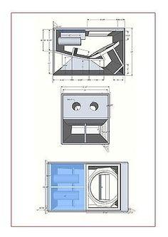 18 inch bass woofer subwoofer speaker cabinet box hi fidelity dj martin wmx design subs 700 watt rms rcf drivers