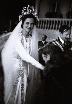 El 27 de abril de 1938, en Tirana, Albania, Geraldine se casó con el rey Zog I