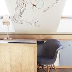 Projekt pokoju dla ucznia nowoczesny pokój dziecięcy od coi pracownia architektury wnętrz nowoczesny | homify Cool Bedroom Furniture, Awesome Bedrooms, Cool Stuff, Wall, Photos, Home Decor, Design, Modern Kids, Child Room