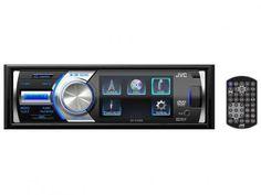 """DVD Automotivo JVC KD-AV300 Tela 3"""" - com Entrada USB e Auxiliar Frontal Rádio AM/FM com as melhores condições você encontra no Magazine Edisiosilvameira. Confira!"""