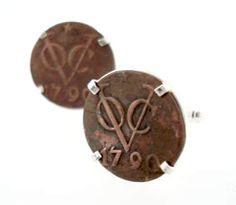 Dutch East India Company VOC Cufflinks