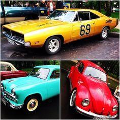 3 retro cars