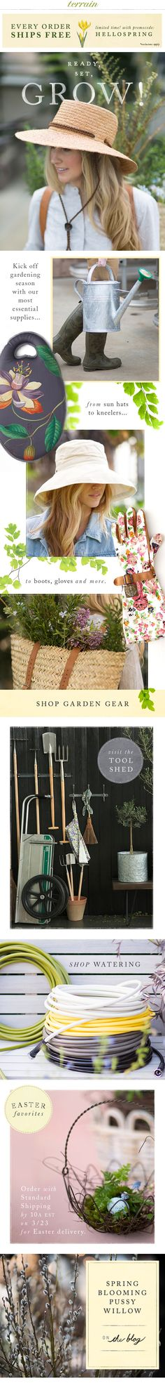 #Gardening #supplies are here! March 20