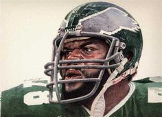 Carl Hairston of the Philadelphia Eagles by Merv Corning Philadelphia Eagles Wallpaper, Philadelphia Eagles Players, Football 101, Football Helmets, Clothes For Big Men, Eagles Team, Fly Eagles Fly, Football Pictures, Vintage Football