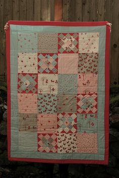 Granny Square Quilt by BirdandBicycle, via Flickr