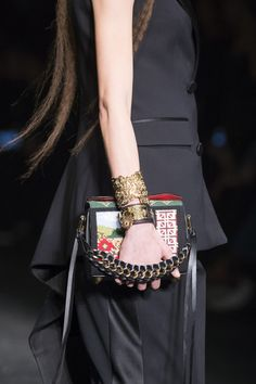 Alexander McQueen, Fall 2017 - These Runway Handbags From Paris Tell Us What Will Be Trending Next Fall - Photos