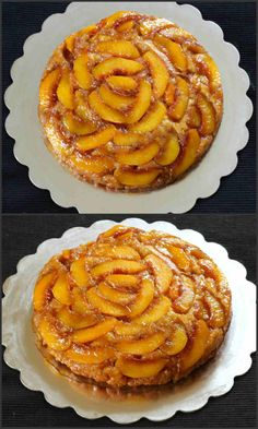 Peach Upside Down Cake is delicious, super moist cake with full of flavor.
