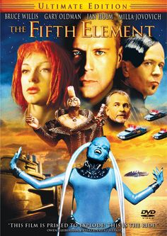I recently watched The Fifth Element for the first time, and I thought it was magnificent. I will love almost any movie that Milla Jovovich is in.