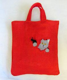 "Shopper ""Katze aus dem Sack"" von CaTsablanca auf DaWanda.com"