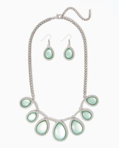 Loopy Teardrops Necklace Set | UPC: 410007123921