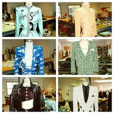 Prince's outfits.
