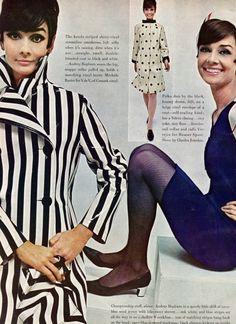 Fashion Dolls and Fashion Scans, Audrey Hepburn shot by William Klein for Vogue...