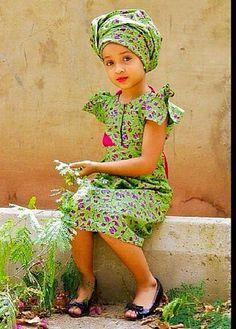 Little fashionista. African children's fashion