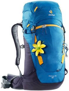 Deuter Women s Rise Lite 26 SL Pack Coolblue Blueberry 26 Liter Hiking  Gear ae195ae246969