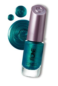 The ONE Long Wear Nail Polish-Mystic Aqua #Nails #Oriflame