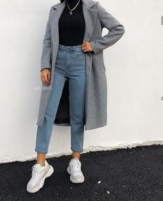 Adrette Outfits, Trendy Fall Outfits, Casual Winter Outfits, Winter Fashion Outfits, Retro Outfits, Look Fashion, Stylish Outfits, Cool Outfits, Fashion Ideas