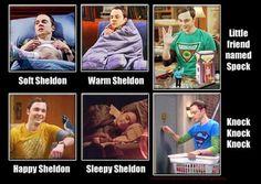 Soft Sheldon, Warm Sheldon.....
