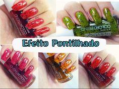 RESENHA: Esmaltes Com Efeito Pontilhado da AVON - Review enamels with da...