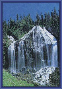 Yellowstone National Park -- more backwoods hiking to waterfalls :)