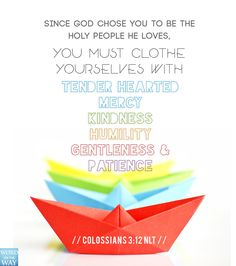 Colossians 3:12 | Word on the WAY
