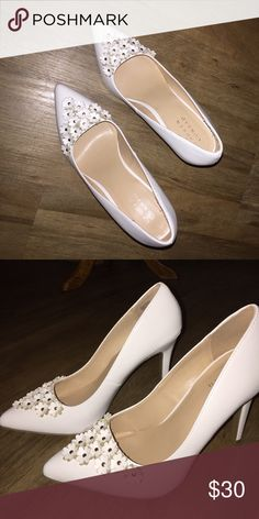 "Lauren Conrad 4"" Heel. Never worn. LC Lauren Conrad Shoes Heels"