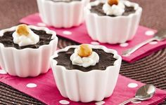Potinhos Cremosos de Chocolate e Avelãs | Sadia ||| Agosto Comunicação e Estratégia para Alimentos ||| ARA Fotografia #sadia http://agostonaweb.com.br #arafotografia