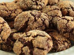 Čokoládovomandľové crinkles bez lepku